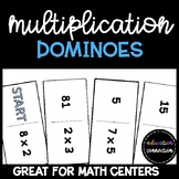 Multiplication Fact Practice Dominoes