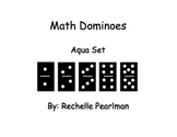 Multiplication Dominoes- Aqua