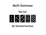 Multiplication Dominoes- Red Set