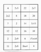 Multiplication Dominos - Ones and Twos