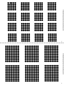 Multiplication Dot Arrays SAMPLER- Subitizing Cards