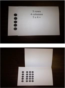 Multiplication Dot Cards