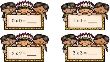 Multiplication Doubles - A FREEBIE