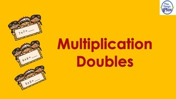 Multiplication Doubles - A FREEBIE