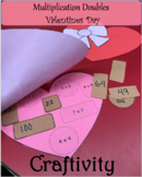 Multiplication Doubles Valentines Day Craftivity