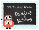 Multiplication: Doubling & Halving Task Cards