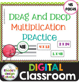 Multiplication Drag and Drop Math Practice Distance Learni