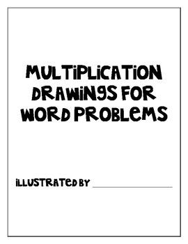 Multiplication Drawings Illustration Book