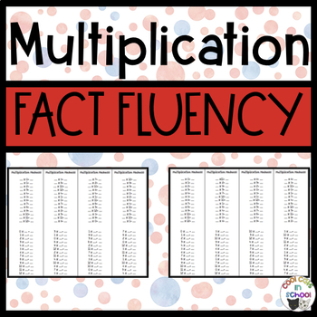 Multiplication Drills