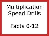 Multiplication Drills 2