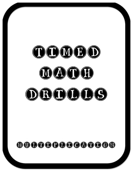 Multiplication Drills