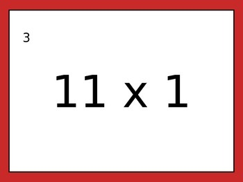 Multiplication Drills 3