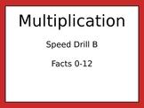 Multiplication Drills 3
