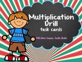 Multiplication Drills - Task Cards