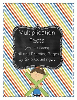 Multiplication Drills and Practice Through Skip Counting