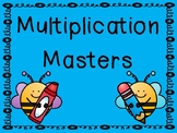 Multiplication Drills and Progress Chart