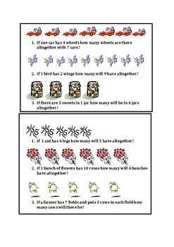 Multiplication EASY TASK CARDS