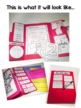 Multiplication Lapbook {EDITABLE} Multiplication Activities & MORE