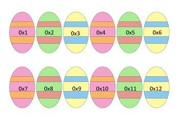 Multiplication Easter Egg Hunt!!!