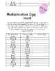 Multiplication Easter Egg Hunt
