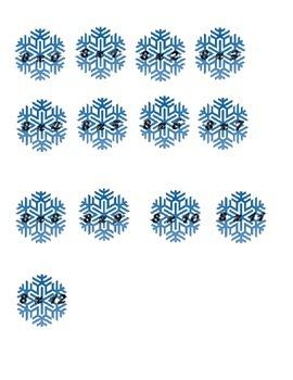 Multiplication Eights (8): Elsa Theme