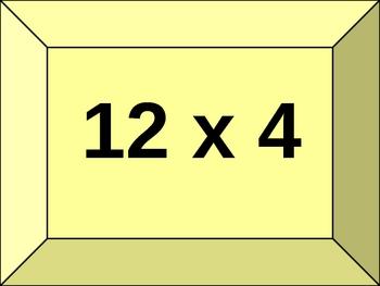 Multiplication Electronic Flash Cards- Set A
