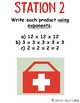 Multiplication Emergency Stations {Multiplying Whole Numbers}