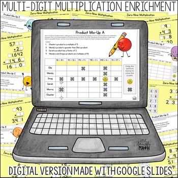 Multiplication Enrichment: Multiply Logic Puzzles