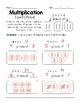 Multiplication- Equal Groups