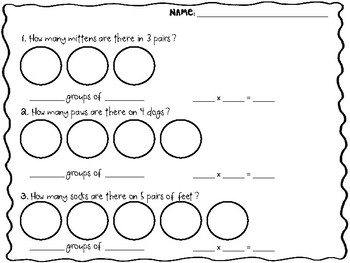Multiplication Equal Groups