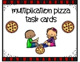 Multiplication Equal Groups Pizza Task Cards