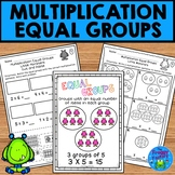 Multiplication Equal Groups Worksheets NO PREP Printables