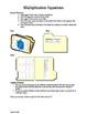 Multiplication Equation File Folder Games