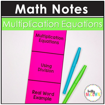 Multiplication Equations Notes