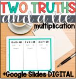 Multiplication Error Analysis: 2 Truths & a Lie (+DIGITAL