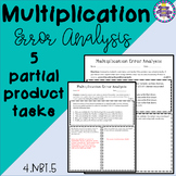 Multiplication Error Analysis - Partial Products