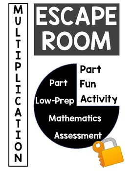 Multiplication Escape Room