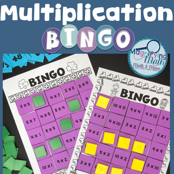 Multiplication Fact BINGO