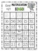 Multiplication Fact BINGO! 32 Different Cards with Cute ANIMALS!