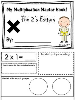 Multiplication Fact Book 2's Edition