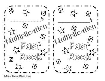 Multiplication Fact Book