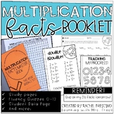 Multiplication Fact Booklet