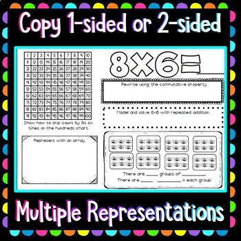 Multiplication Fact Booklets - Improving Understanding and Memorization