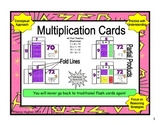 Multiplication Fact Cards:  You will never go back to traditional flash cards