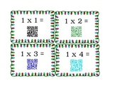 Multiplication Fact Cards with QR codes