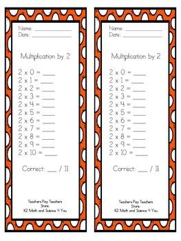 Multiplication Fact Challenge 0-10
