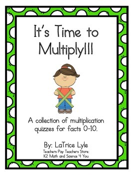 Multiplication Fact Challenge 0-10