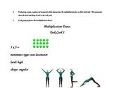 Multiplication Fact Dance