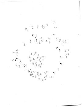 Multiplication Fact Dot to Dot Activities