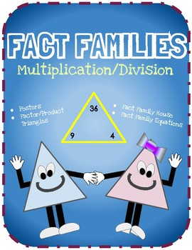 Multiplication Fact Families